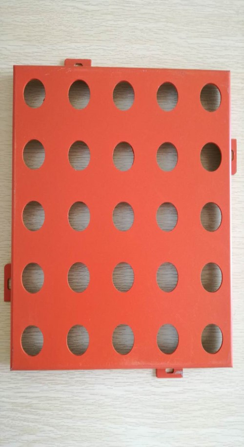 开封穿孔铝单板价格_金属建材生产厂家