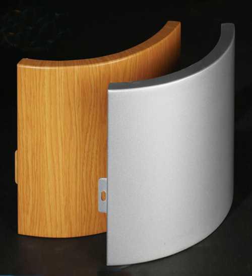 山东铝单板加工_棕色金属建材工艺