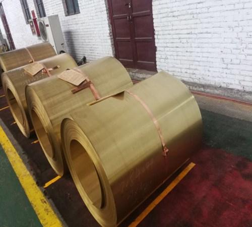 黄铜带生产厂家_紫覆铜板材料